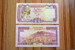 Yemen Arab Republic 100 Rials, P-28, 1993, UNC, 1PCS, Middle East - Yemen
