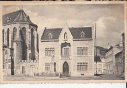 CPA HAM SUR HEURE- MONUMENT, CHURCH, MANSION - Ham-sur-Heure-Nalinnes