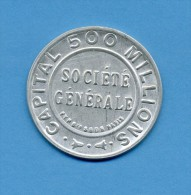 "Timbre Monnaie "" SOCIETE GENERALE "" - 10 Centimes N° 138 - Très Rare - Advertising"