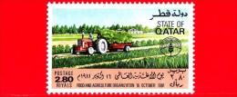 Nuovo - QUATAR - 1981 - Giornata Mondiale Dell´alimentazione - FAO - World Food Day - Agricoltura - 2.80 - Qatar