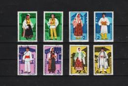 1987 -  COSTUMES REGIONAUX  MI N 4398/4405 Et Yv 3762/3769 - 1948-.... Repúblicas