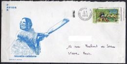 Nouvelle-Calédonie - 1975 - Lettre - Yvert N° PA 164 - Briefe U. Dokumente