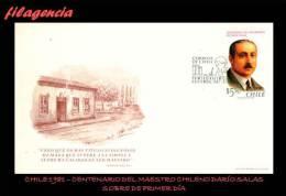 AMERICA. CHILE SPD-FDC. 1981 CENTENARIO DEL MAESTRO CHILENO DARÍO SALAS - Cile
