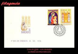 AMERICA. CHILE SPD-FDC. 1978 NAVIDADES - Cile