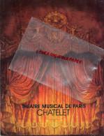 75 - PARIS - PROGRAMME THEATRE LE CHATELET- RECITAL PIANO NIKITA MAGALOFF- CHOPIN-1982-PUB PERRIER-VALENTINO-PACO RABANE - Programs