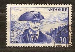 Andorre Français Andorra 1948 1951   Yvertn° 137 (°) Used Oblitéré Cote 13,00 Euro