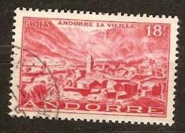Andorre Français Andorra 1948 1951   Yvertn° 134 (°) Used Oblitéré Cote 12,00 Euro