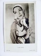 Old Post Card Actors Actress Cinema Film Kino Ross Lupe Velez - Actors