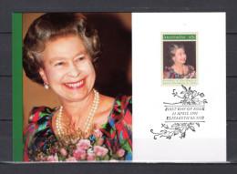 """AUSTRALIE 1991 : Carte Maximum Et PAP Neuf """" ANNIVERSAIRE DE LA REINE ELIZABETH """". Parfait état. CM - Familles Royales"""