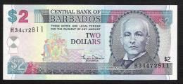 BARBADES   P60   2   DOLLARS    2000    UNC. - Barbados
