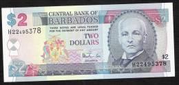 BARBADOS  P54   2   DOLLLARS    1999    UNC. - Barbados