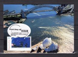 """Carte Maximum Et PAP Neuf D'Australie De 1997 """" LAVENDER BAY """". Parfait état. CM - Maximumkarten (MC)"""