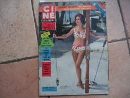 CINE REVUE N° 1 ( JANVIER -1964 ) JANE WALD - FRANK SINATRA / SYLVIE VARTAN / GILBERT BECAUD - Dos:  ROBERT STACK - Cinéma