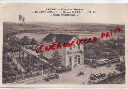 91 - BRUNOY - PLATEAU DE MANDRES-  AU COUP D' OIL - MAISON GILLET  UNIC PANORAMA - Brunoy