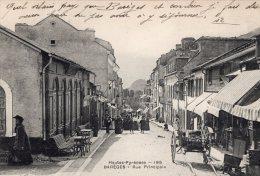 V1170 Cpa 65 Barèges - Rue Principale - Frankreich