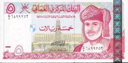 OMAN P39  5  RIALS 2000 #G/4 Signature 2     UNC. - Oman