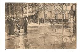 PARIS - SEINE - CRUE DE LA SEINE - PLACE DE L'ALMA - INONDATIONS 1910 - PHOTOGRAPHE - Inondations De 1910