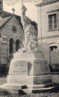 CPA FONTEVRAULT - MONUMENT ELEVE AUX ENFANTS DE FONTEVRAULT MORTS POUR LA FRANCE - Non Classés