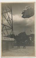 2 Cartes Photo Pub Parachutes Aviorex Dreyfus Freres  Fete Foraine Manege Judaica - Paracadutismo