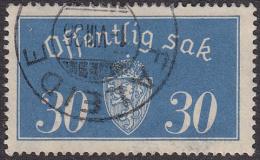 NORWAY - Mi # D16 Faleide 1.VIII.35 - Service