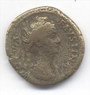 MONNAIE ROMAINE DUPONDIUS  Faustine Mère 11.53 Grs......... Laiton - 3. Les Antonins (96 à 192)