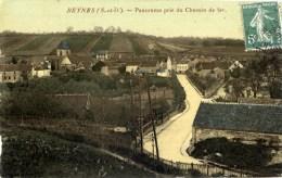 78 BEYNES Panorama Pris Du Chemin De Fer  Couleur - Beynes