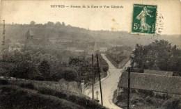 78 BEYNES Avenue De La Gare Et Vue Générale - Beynes