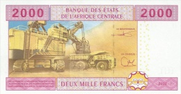 CENTRAL AFRICAN STATES P. 208U 2000 F 2002 UNC - Camerun