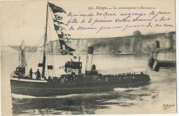 """Remorqueur """" Mercure """" à Dieppe - Remorqueurs"""