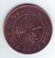 HONG KONK 1 Cent 1866 – Victoria - Hong Kong