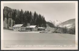 Salzburg   -Steiner-Stadler's    Privat-Skiheim  Huttergut  Niedernfritz I. Pongau, - Ohne Zuordnung