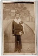MERIEL - SOUVENIR COMMUNION EGLISE ST ELOI - 1937 - CARTE PHOTO - Meriel