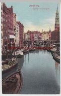 (93894) AK Hamburg, Catharinenfleet, Seepost 1911 - Germania