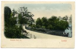 LONDON : DULWICH PARK (UNDIVIDED BACK - STENGEL) - London Suburbs