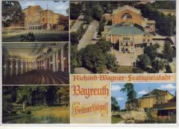 BAYREUTH, Richard-Wagner Festspielstadt,  Mehrbildkarte - Bayreuth