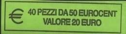 ITALIA  2008 - ROLL 50 CENT  ORIGINALE ZECCA - DATA VISIBILE - FDC - Rotolini