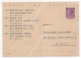 GIOCO INTERNAZIONALE DEGLI STUDENTI PERMESSO DALLE AUTORITA' - CARTOLINA INTERO POSTALE DATATA ANNO 1964 - Cartoline