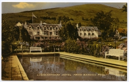 LOCHEARNHEAD HOTEL FROM BATHING POOL - Perthshire