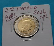 RARE ***  2  EURO  MONACO  2014 Spl - Mónaco