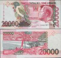 Sao Tome And Principe 2004 - 20000 Dobras - Pick 67 UNC - Sao Tomé Et Principe