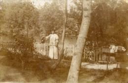 78 BONNIERES Sur SEINE  Carte-Photo écrite De Bonnières En 1909 - Bonnieres Sur Seine
