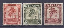150025355  RUANDA. YVERT    Nº  126/8  MNH/MH - Ruanda