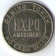 2605 Gaming Token - Expo Amusement - No Cash Value - Casino