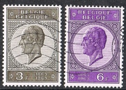 1965  - BELGIO / BELGIUM - CENTENARIO DELLA MORTE DI RE LEOPOLDO I. USATO - Belgium