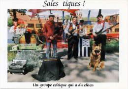 CPM Sales Tiques Groupe Celtique  Colombes (carte Com) - Artisti