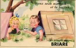 Briare   Viens Sous Ma Tente ...(carte à Systeme Tirette) - Briare