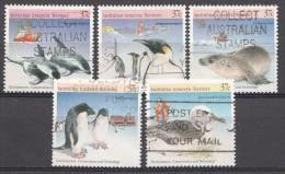 AAT 1988  Mi.nr.:79-83 Tiere Von Anrtarktis  Oblitérés / Used / Gestempeld - Australisch Antarctisch Territorium (AAT)