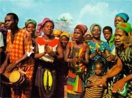 VÖLKERKUNDE / ETHNIC - Cote D´Ivore, Regiom De MAN, Fete Au Village - Elfenbeinküste