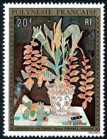 POLYNESIE 1974 - Yv. PA 84 **   Cote= 25,00 EUR - Tableau De R. Temarui-Masson ..Réf.POL22828 - Poste Aérienne