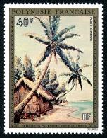 POLYNESIE 1974 - Yv. PA 85 **   Cote= 36,00 EUR - Tableau De M. Chardon ..Réf.POL23082 - Poste Aérienne